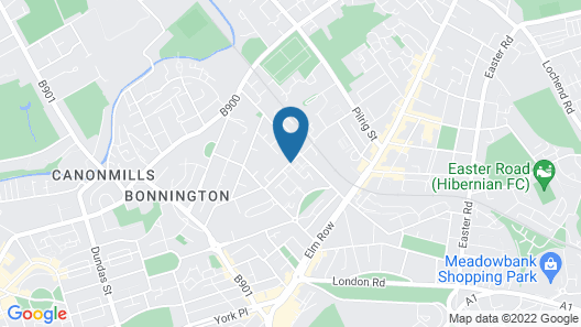 Edinburgh Playhouse Apartments Map