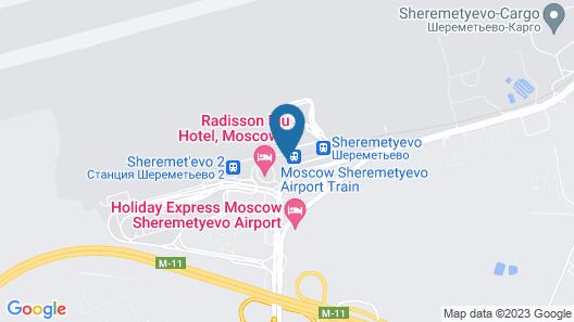 Air Express Sheremetyevo  (TRANZIT ZONE) Map