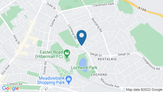 Lochend Serviced Apartments Map