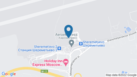 Comfort Hotel Air Express Sheremetievo (FREE ZONE) Map
