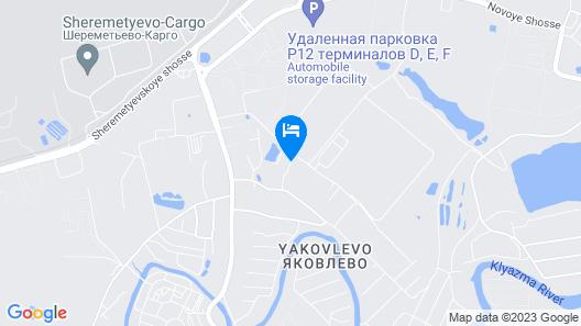 Hotel Alexandria-Sheremetyevo Map