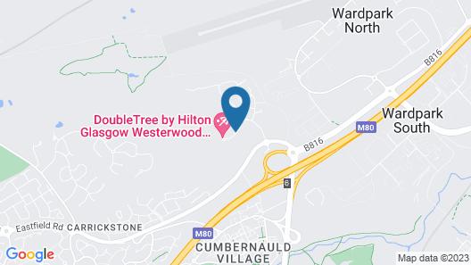 DoubleTree by Hilton Glasgow Westerwood Spa & Golf Resort Map