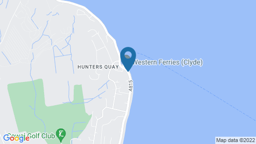 Hunters Quay Hotel Map