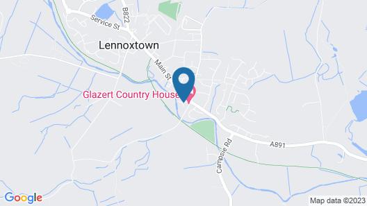 Glazert Country House Hotel Map