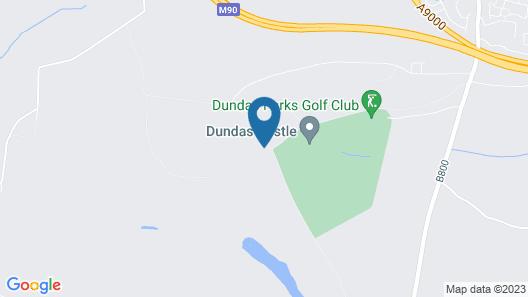Glampotel Dundas Castle Map