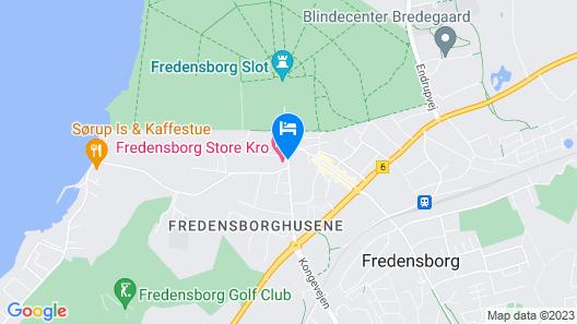 Fredensborg Store Kro Map