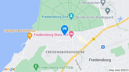 Fredensborg Vandrerhjem Map