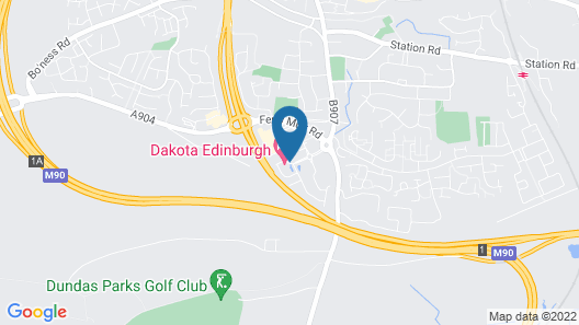 Dakota Edinburgh Map
