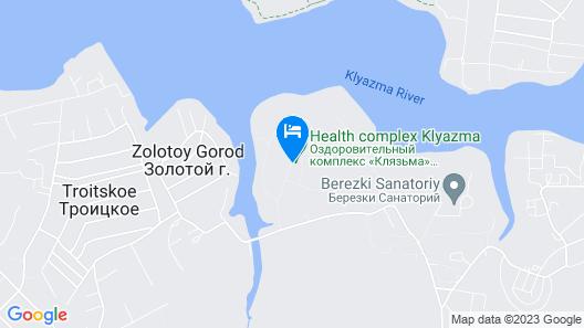 Spa Resort Klyazma Map