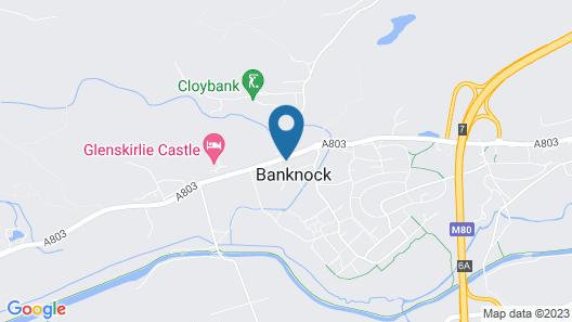 Glenskirlie House & Castle Map