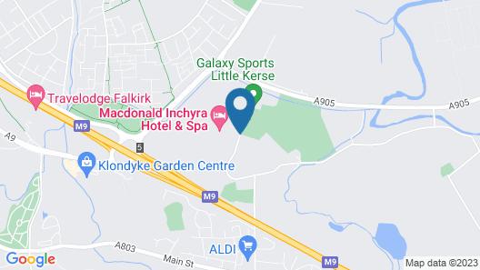 Macdonald Inchyra Hotel & Spa Map