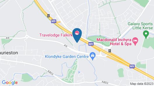 OYO Metro Inns Falkirk Map