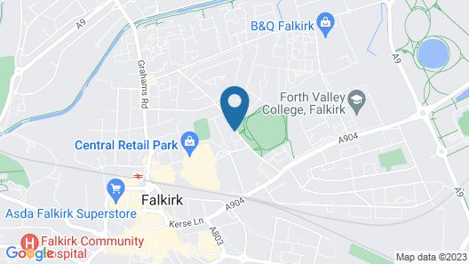 Carmel Apartments Map
