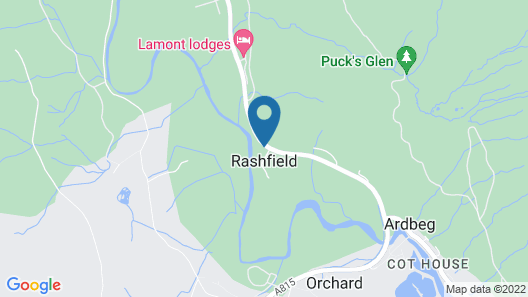 The Wee Ludging Map