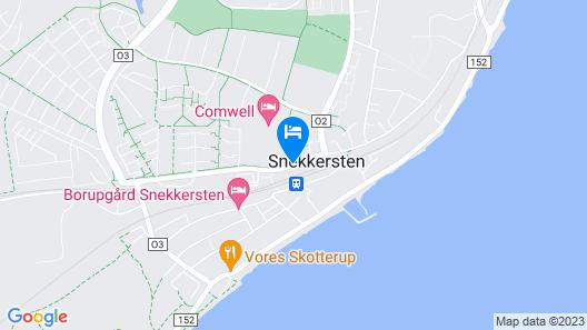 Comwell Borupgaard Map
