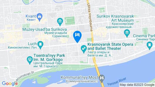 Novotel Krasnoyarsk Center Map