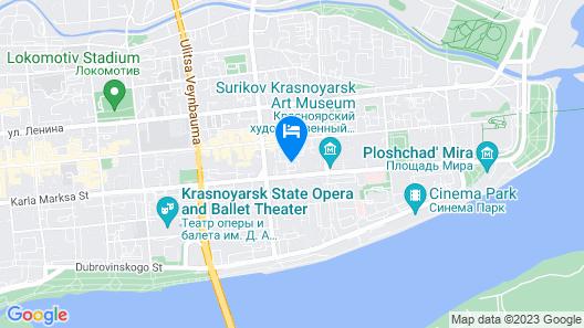 Hotel Zvezdochka Map