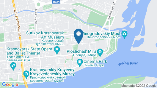 Hotel Oktyabrskaya Map