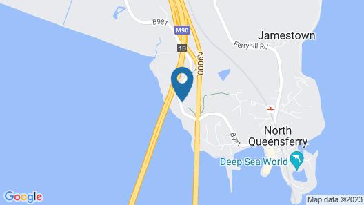 DoubleTree by Hilton Edinburgh - Queensferry Crossing Map