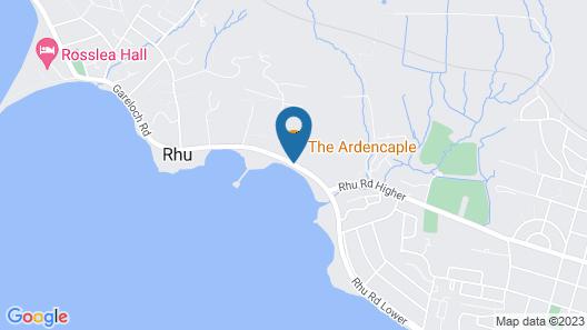 Ardencaple Hotel by Greene King Inns Map