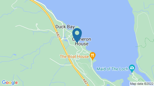 Cameron House Map