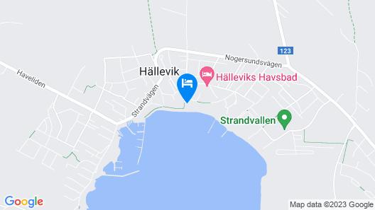 Hanöhus Hällevik Strandstuga Map