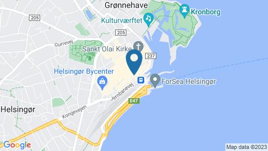Hotel & Restaurant Madam Sprunck Map