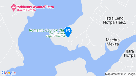 Romantic Country Club Map