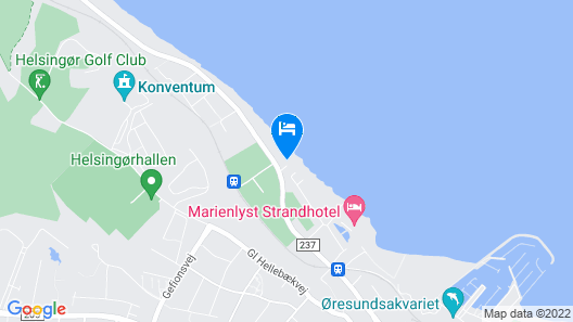 Danhostel Helsingør Vandrerhjem Map