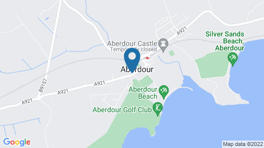 The Woodside Hotel, Aberdour. Exclusive Use Map