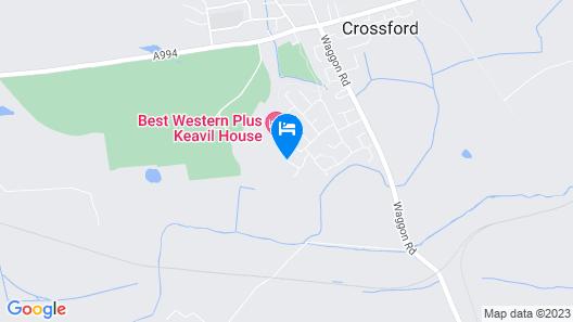 Best Western Plus Dunfermline Crossford Keavil House Hotel Map