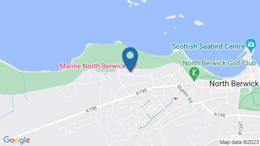 Marine & Spa North Berwick Map