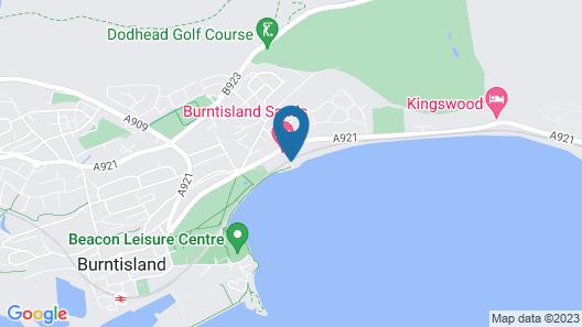 Burntisland Sands Hotel Map