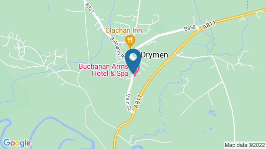 Buchanan Arms Hotel Map