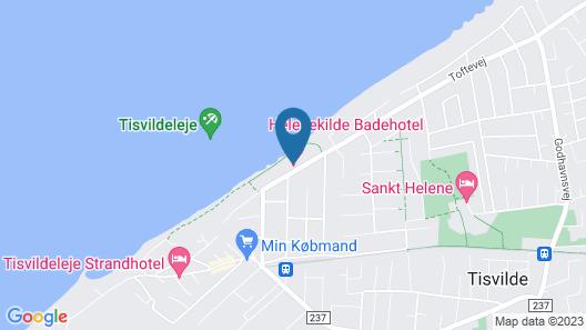 Helenekilde Badehotel Map