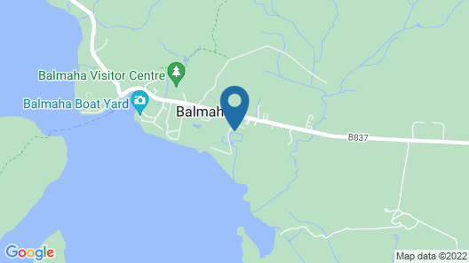 Loch Lomond Waterfront Luxury Lodges Map