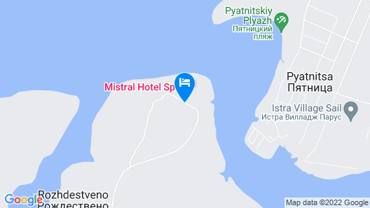 M'Istra'L Hotel & SPA Map