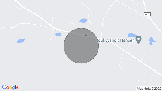 2 Bedroom Accommodation in Ry Map