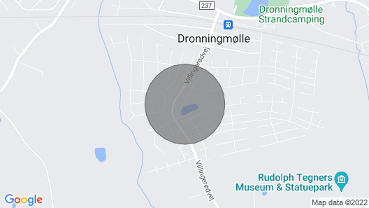 2 Bedroom Accommodation in Dronningmølle Map