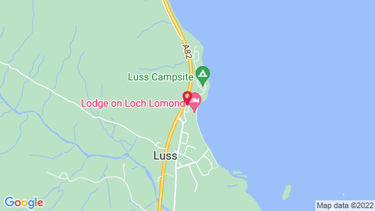 Lodge on Loch Lomond Hotel Map