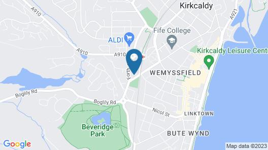 The Beveridge Park Hotel Map
