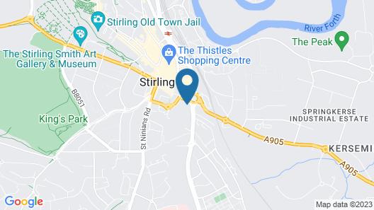 Fletcher's Restaurant Bar & Rooms Map