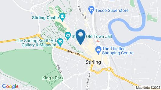 Hotel Colessio Map