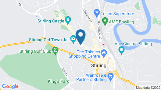 The Stirling Highland Hotel Map