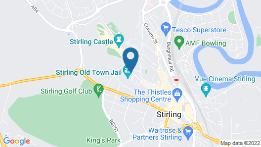 Stirling Youth Hostel Map