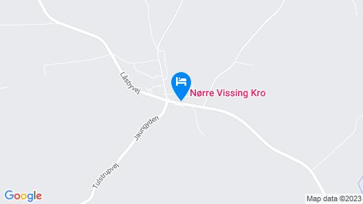 Nørre Vissing Kro Map