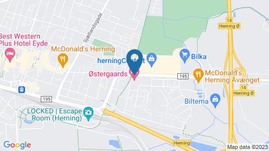 Østergaards Hotel Map