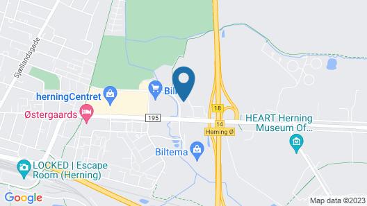 Dolphin Hotel Annex Map