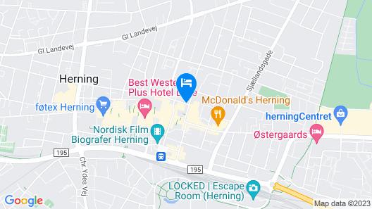 DGI Huset Herning Map