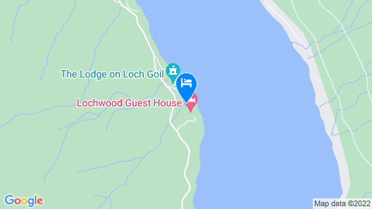 Lochwood House B&B and Self Catering  Map